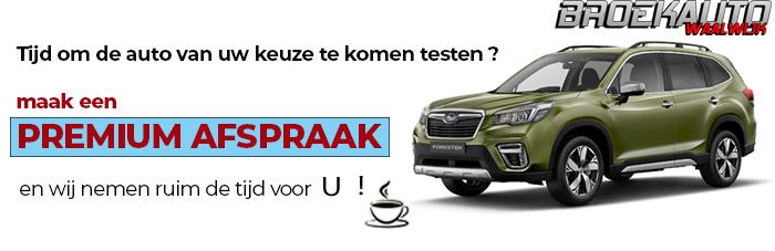 maak een testrit met een Subaru bij Broekauto Waalwijk