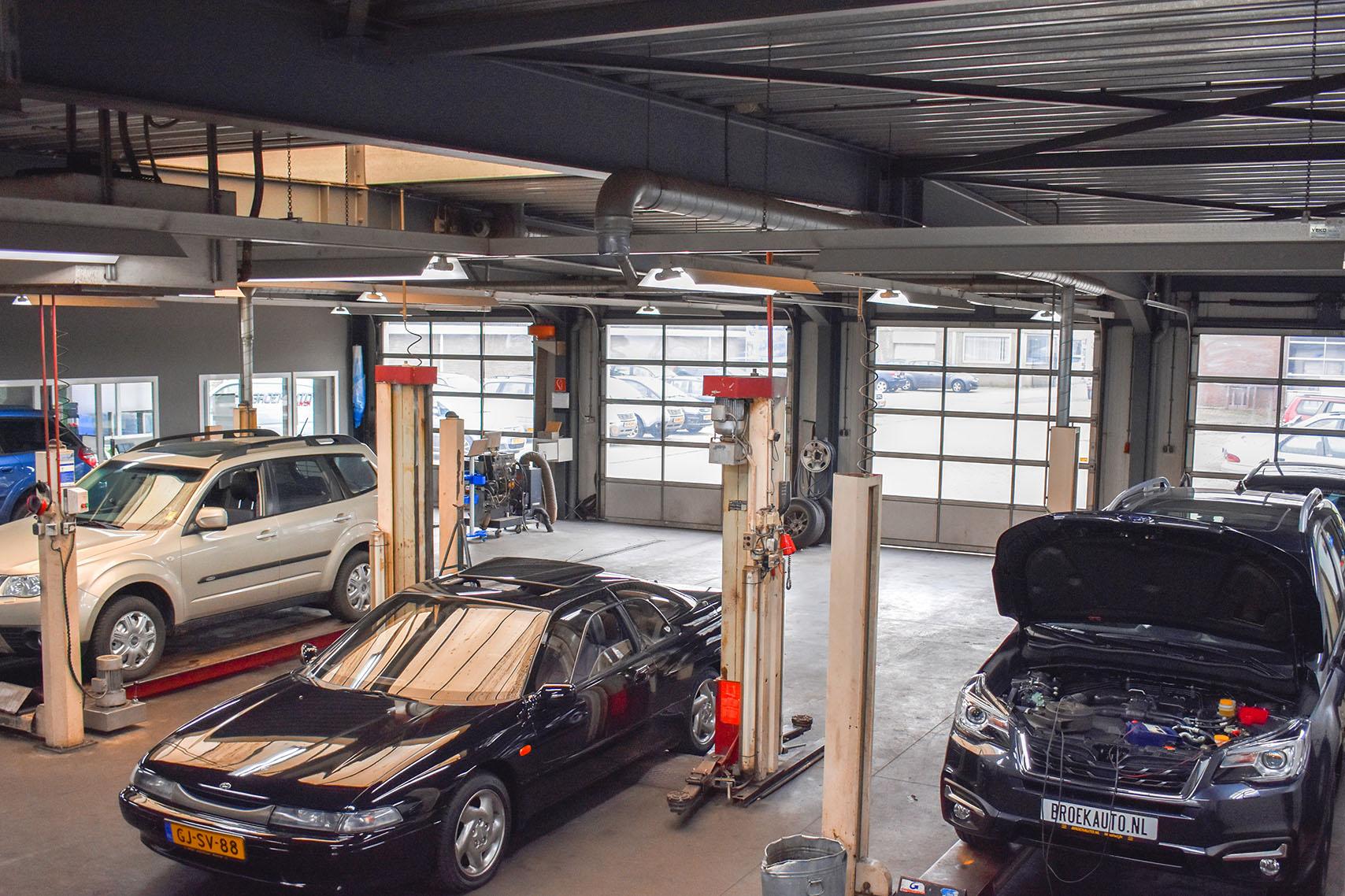 werkplaats Broekauto Waalwijk