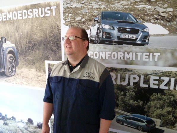 werkplaatschef Johan Lodewijks